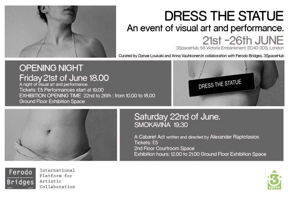 Dress the Statue Final programme